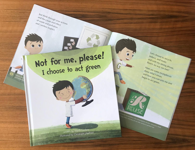 Illustration Kinder Nachhaltigkeit