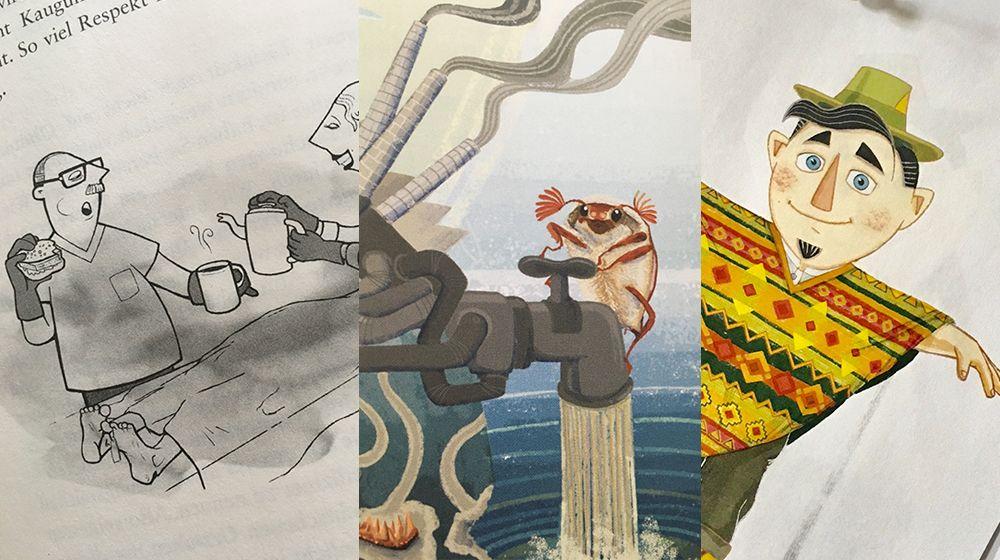 studio Illustration für Buch und Magazin