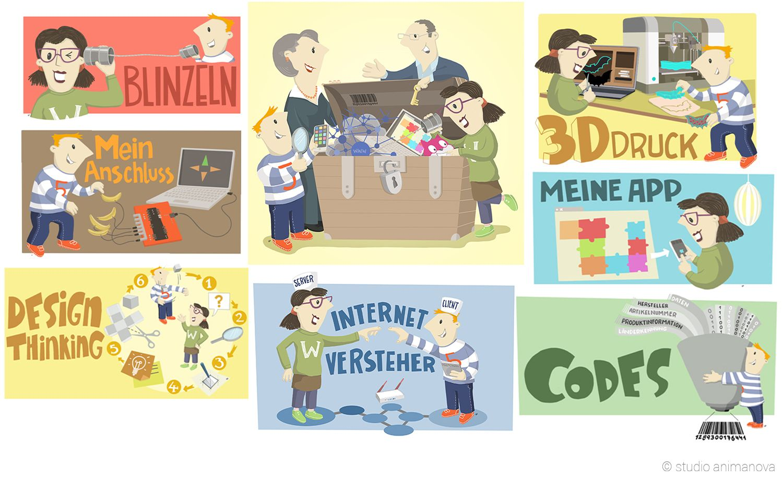 IT2School Illustration