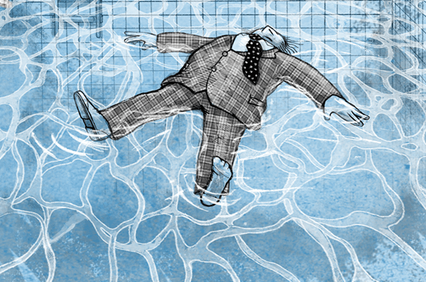 Cover: Schwimmen Tote immer oben?