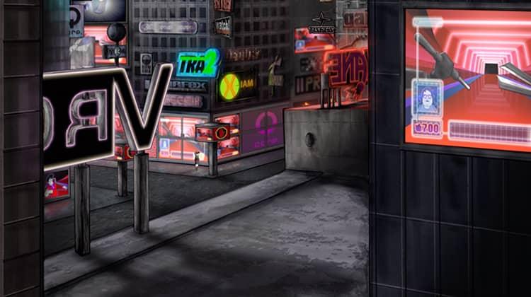 Animation Kurzfilm Animationsfilm, Stadt, Dystopie, Science Fiction